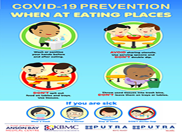 COVID-19 Prevention: When At Eating Places