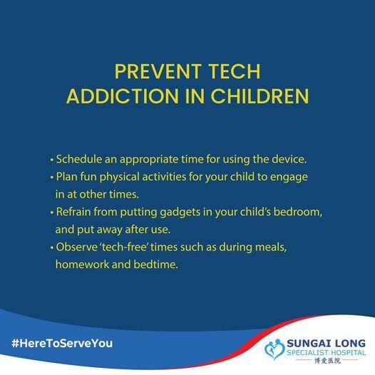 Prevent Tech Addiction in Children
