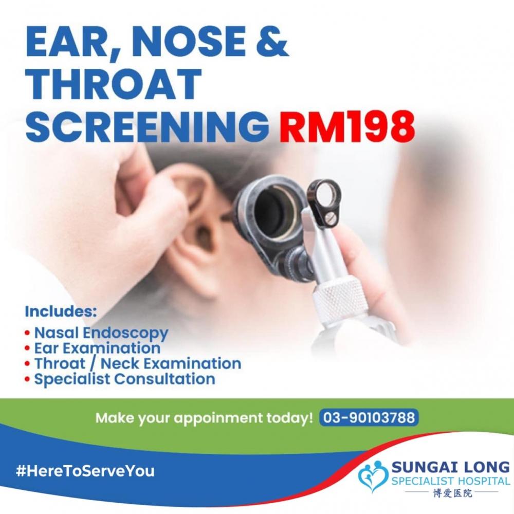Ear, Nose & Throat Screening